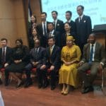 Farewell and welcome reception for Chinese medical teams